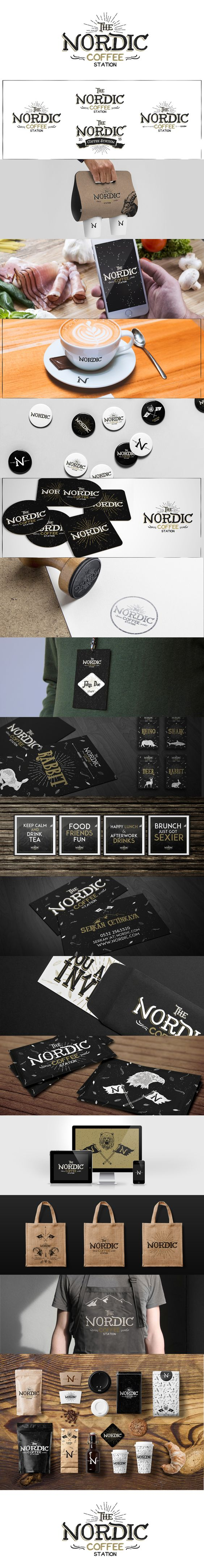 Nordic ' Coffee Station | Branding on Behance