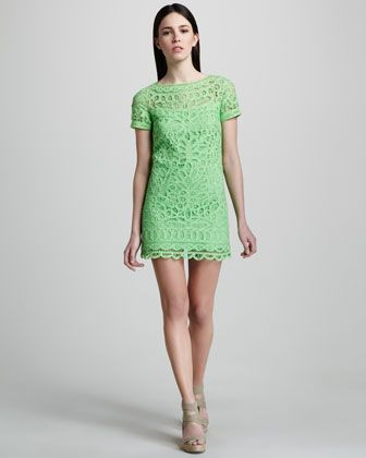 Love the color!!! Marie Kate Dress by Lilly Pulitzer at Neiman Marcus.