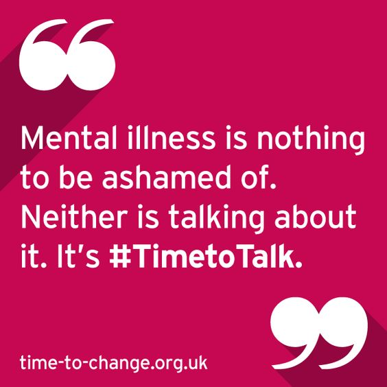 Time to Talk Day: Shaking off the stigma of mental health
