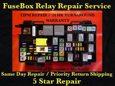 2012 dodge caravan fuse box sponsored ebay  2011 2012 dodge ram 1500 2500 tipm fuse box repair  2012 dodge ram 1500 2500 tipm fuse box