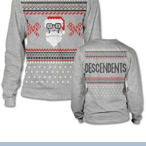 Limited Edition Descendents Ugly Christmas Sweater 2013