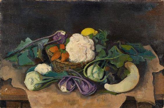 Karl Hofer - Gemüsestilleben (1943)