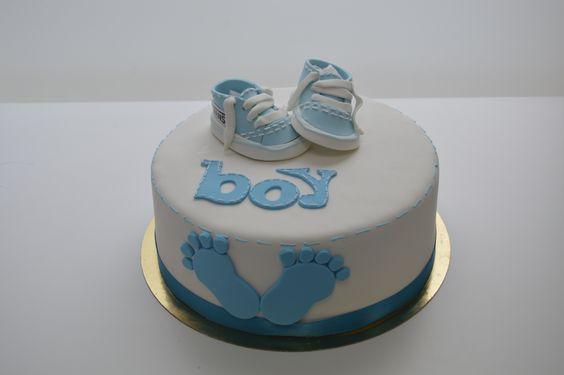 Elegant cake for a #babyshower