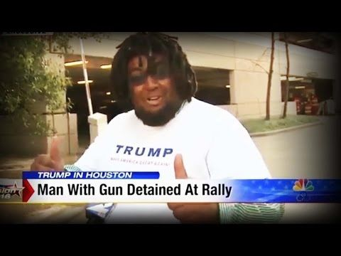 Agent Provocateur? Story About Guy Arrested with Gun at Trump Rally Makes No Sense - YouTube