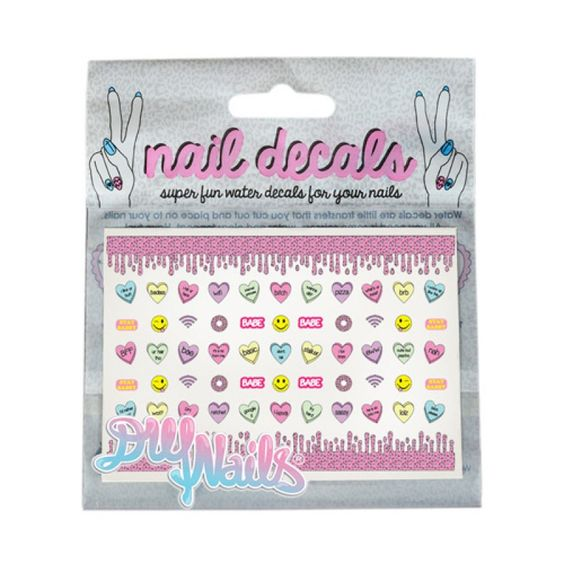 DIY Nails Candy Decals http://www.rickysnyc.com/diy-nails-candy-decals.html