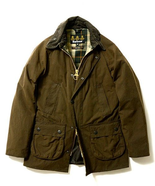"""BEAMS F / Barbour / """"BEDALE"""" Wash"""