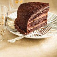 Blackout Cake - Ricardo- Gâteau de fête du boyfriend! (Toujours au four, on va voir s'il est bon!