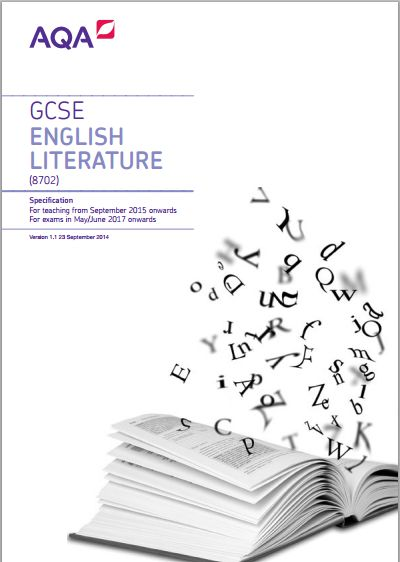ENGLISH LITERATURE GCSE AQA?