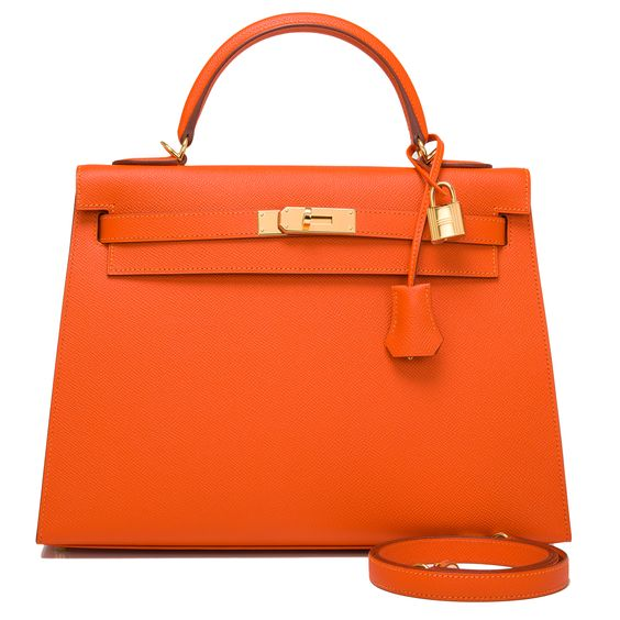 prix sac kelly hermes crocodile - Hermes Kelly Bag 32cm Orange H Sellier Epsom Gold Hardware ...