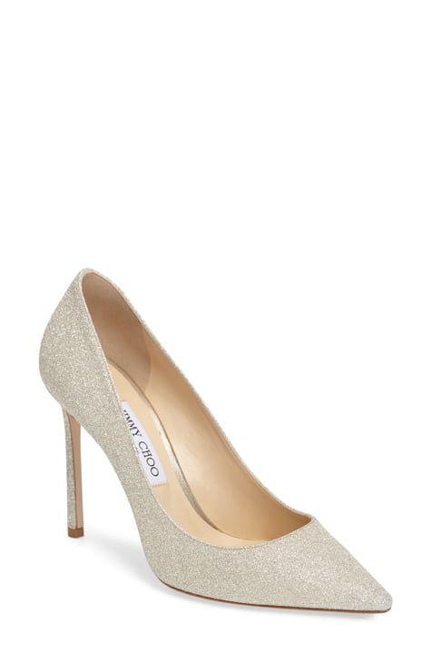Wedding Shoes From Nordstroms In 2020 Pointy Toe Pumps Jimmy Choo Heels Women S Pumps