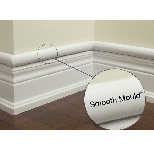 Cord Cover That Looks Like Part Of Your Molding For The Home - Creative and stylish solution to hide electrical wires cluttering a room