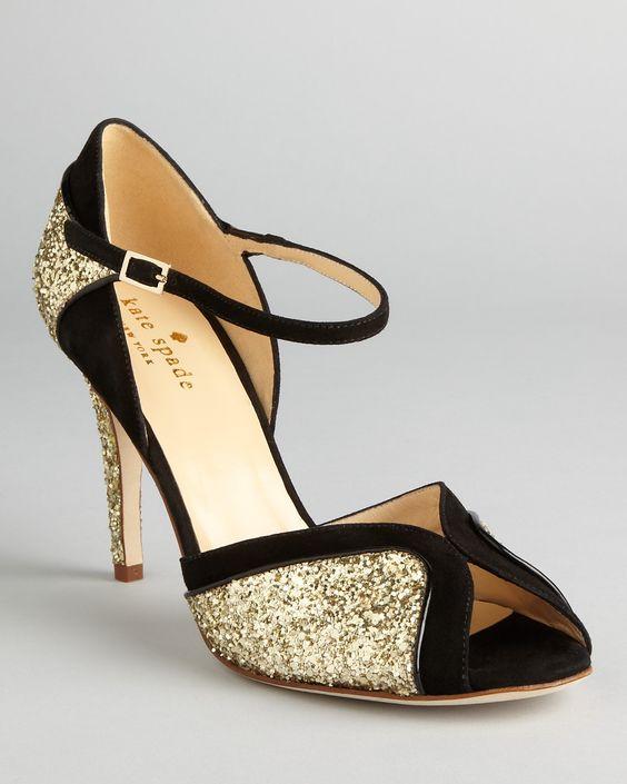 kate spade new york Peep Toe Evening Sandals - Corinne High Heel | Bloomingdale's