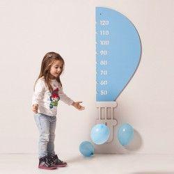 metro da parete in cartone per bambini