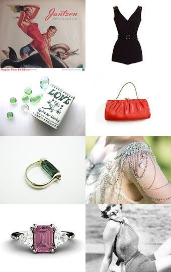 I love vintage this summer...  by Cristina Arriola on Etsy--Pinned with TreasuryPin.com