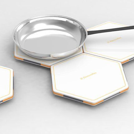 Honeycomb Modular Induction Tiles - Alfred Ching