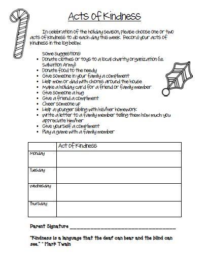 free acts of kindness worksheet pinterest to be december and kindness. Black Bedroom Furniture Sets. Home Design Ideas