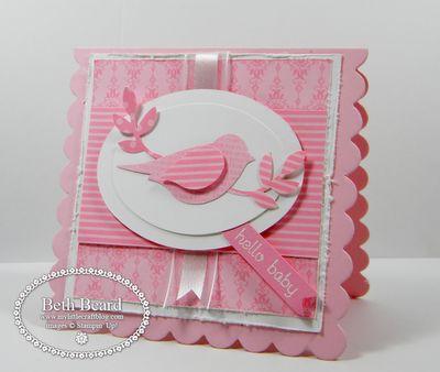 SU Bird Builder Punch - card by Beth Beard
