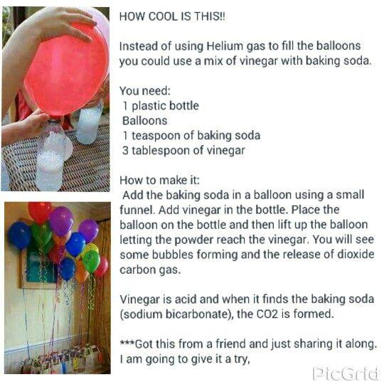 Alternative to helium balloons                                                                                                                                                      More