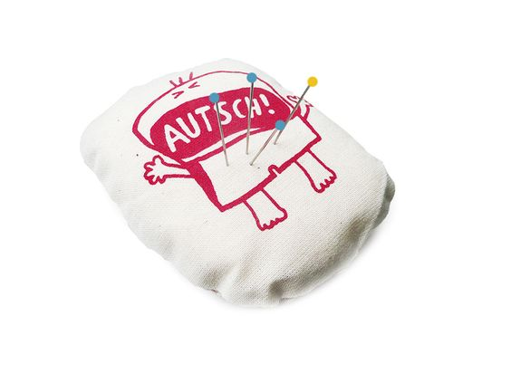 Autsch!+Nadelkissen,+handgemacht+von+cherry_bomb+auf+DaWanda.com