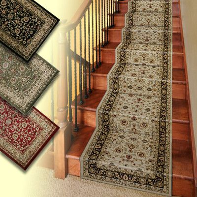 Stair runners runners and carpets on pinterest for Luxury stair carpet