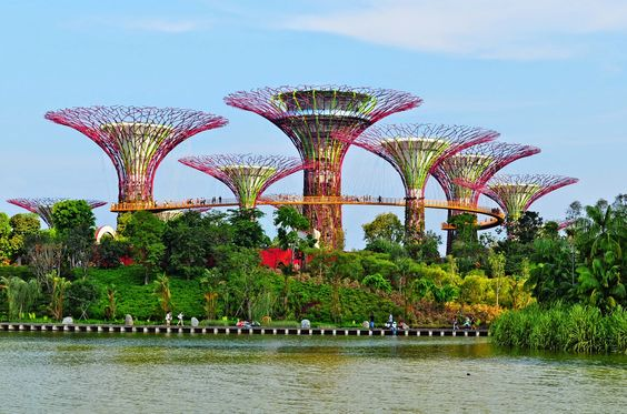 Singapore's well-known landamrks