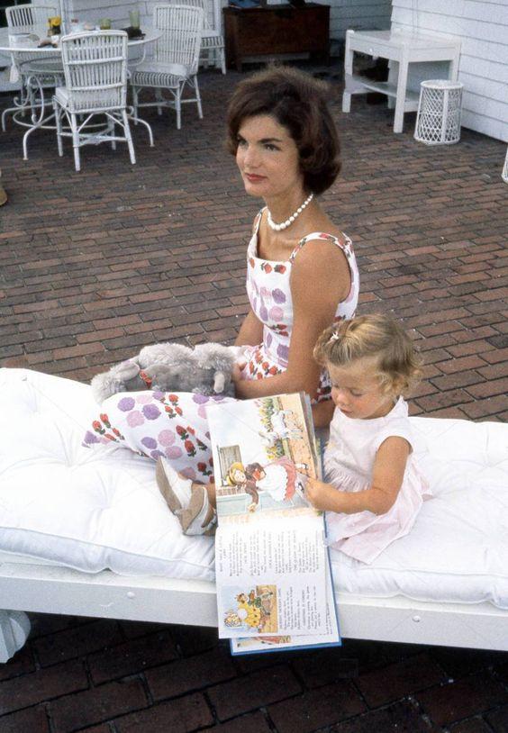 Jackie and Caroline: