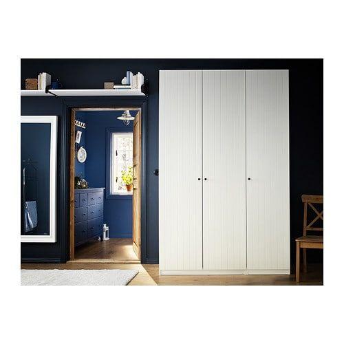 Risdal Porte Blanc Ikea Meuble Et Armoire Pax