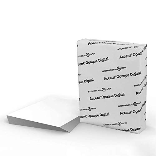Accent Opaque White 8 5 X 11 Cardstock Paper 120lb 325gsm 150 Sheets 1 Ream Premium Smooth Extrem In 2021 Cardstock Paper Card Making Supplies Computer Paper