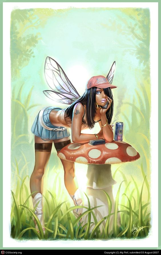 Fairies Are Chavs Art