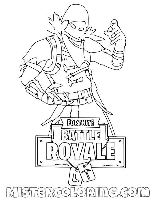 Fortnite Coloring Pages For Kids Mister Coloring With Images