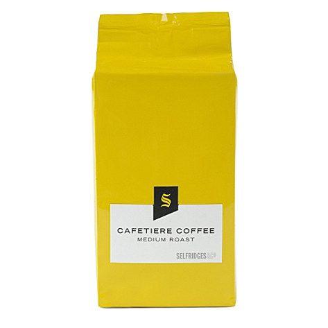 Selfridges packaging: Coffee Refill, Coffee House, Bag 250G, Coffee Branding, Bb Selfridge, Selfridges Coffee
