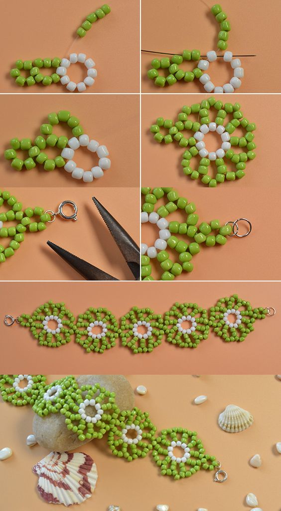 fresh seed beads bracelet, wanna it? LC.Pandahall.com will release the tutorial soon.: