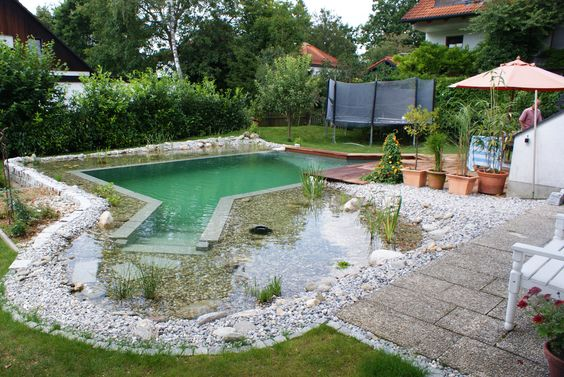 schwimmteiche von sepp gala-bau: naturpool und schwimmteich, Gartenarbeit ideen