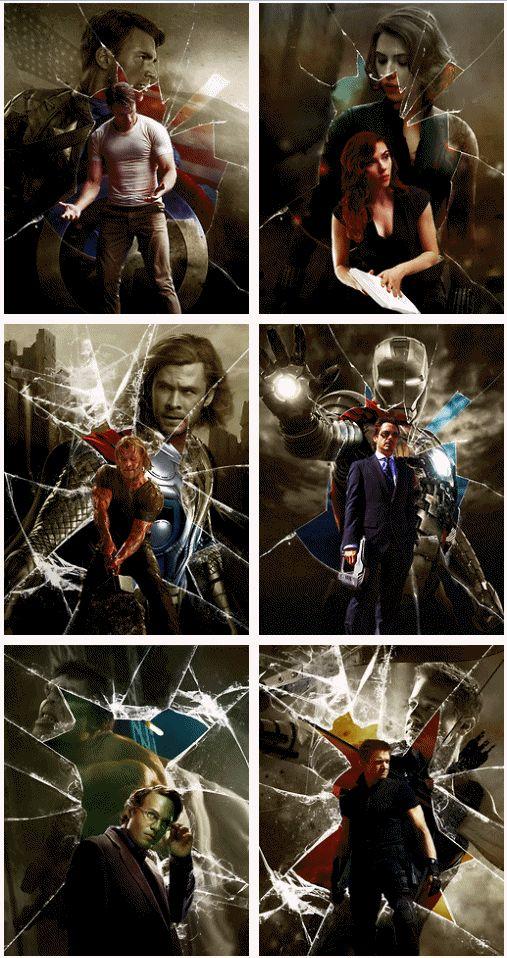 The Avengers http://pinterest.com/yankeelisa/marvel-s-the-avengers/