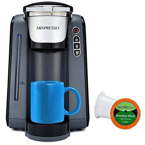 Cheap Mixpresso Single Serve K Cup Coffee Maker Single Cup Coffee Maker K Cup Coffee Maker Coffee Maker