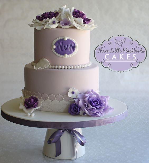 Elegant Birthday Cakes For Women Elegant Birthday Cake