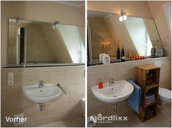 vorher nachher Staging Bad Home Staging von nordlixxde - badezimmer vorher nachher