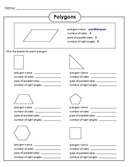 Super Teacher Worksheets Polygons - Delibertad
