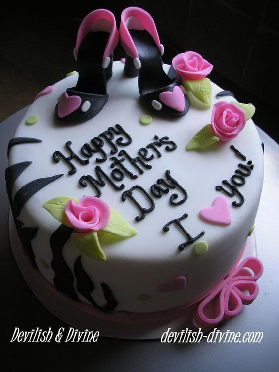 Mothers Mothers Day Cake And Cakes On Pinterest