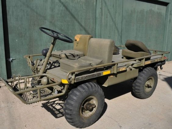 1966 Willys M274 Mule_I wonder if anyone has ever put Mattracks on one of these?