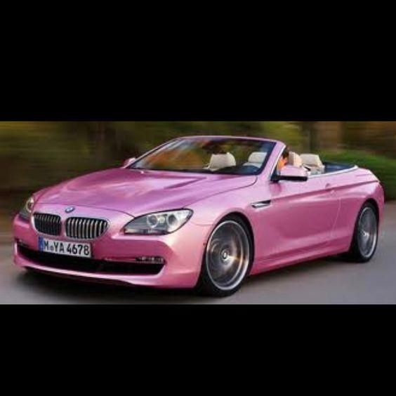 Sexy Pink Drop Top M6 BMW