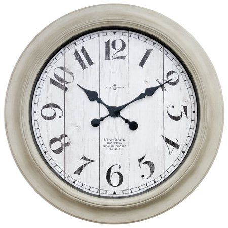 6ad0130bfbb4ca26bcf05629e00fbf81 - Better Homes And Gardens 28 Wall Clock Oil Rubbed Bronze