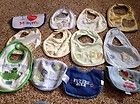 Baby bibs lot of 12 used condition carters and gerber and others, boys - http://baby.goshoppins.com/feeding/baby-bibs-lot-of-12-used-condition-carters-and-gerber-and-others-boys/