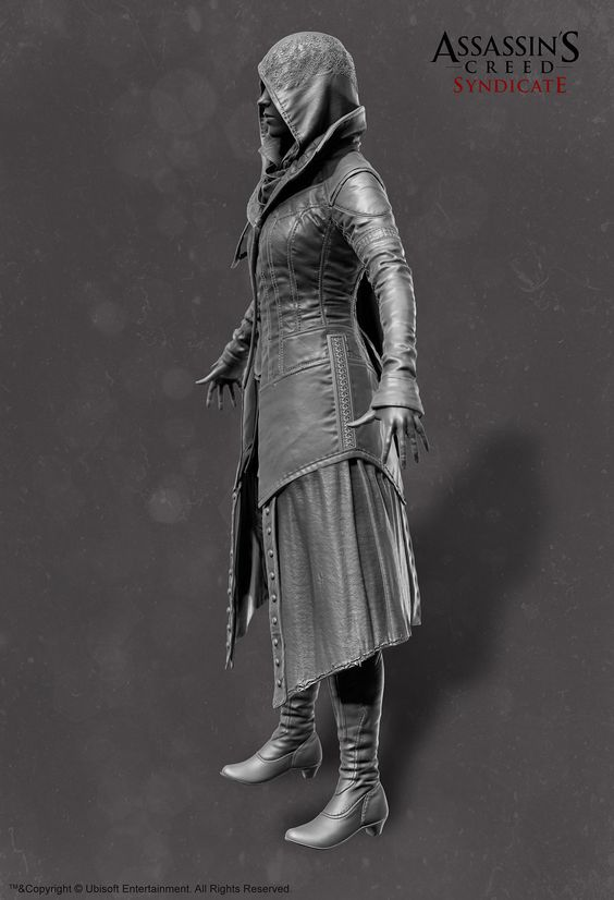 ArtStation - Assassin's Creed Syndicate Evie Frye , Alexis Belley