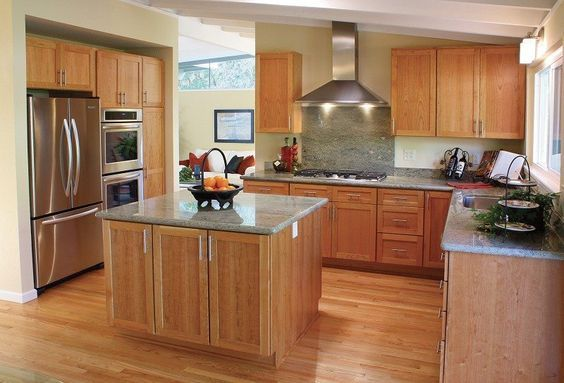 Kitchen Colors That Match With Stainless Steel The Best Color Matches Replacing Kitchen Countertops Best Kitchen Colors Honey Oak Cabinets