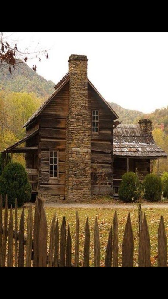 For the old cabins and cabin on pinterest for Log cabin gunsmithing