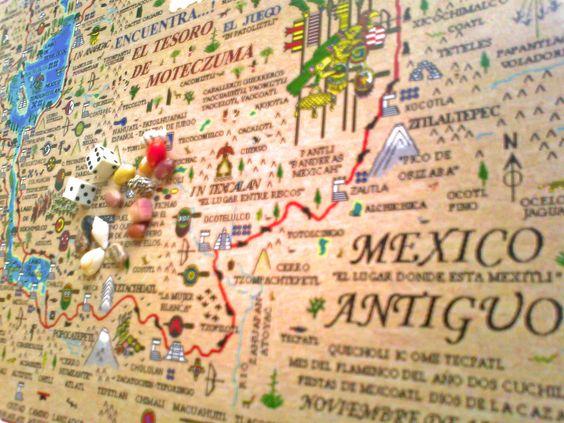 """El tesoro de Moteczuma """"El Juego de mesa 100% mexicano"""""""