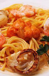 Seafood Creamy Pasta! droooool O_o