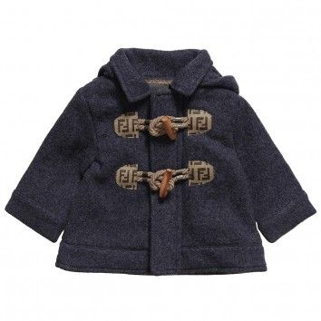 Baby Boys Blue Duffle Coat | Baby Boy Dress Up | Pinterest | Coats ...