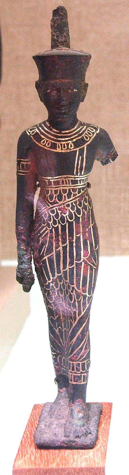 Statuette, Neith  Date: ca. 1070–664 B.C.  Accession Number: 44.4.85